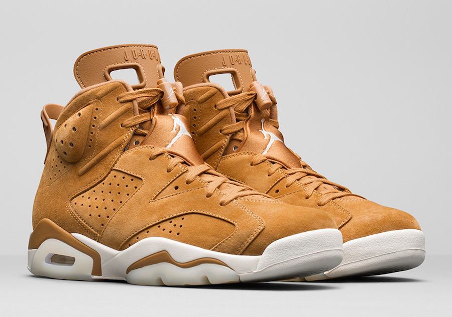 buy popular 1404b 7b8d5 Release Date  November 21, 2017. Price   190. Air Jordan 6 Wheat 384664-705