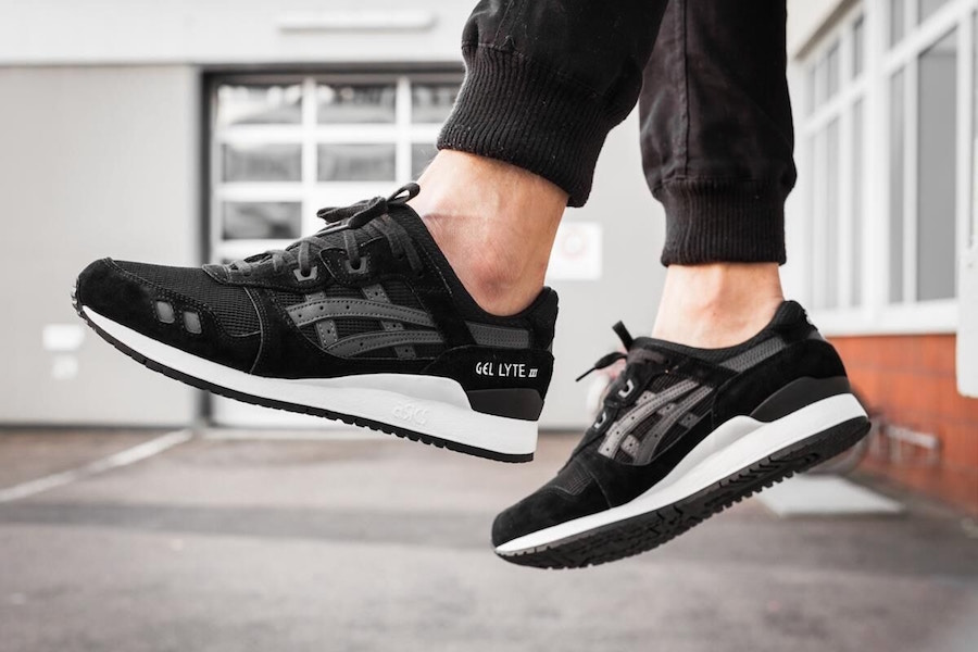 ASICS Gel Lyte III Black White