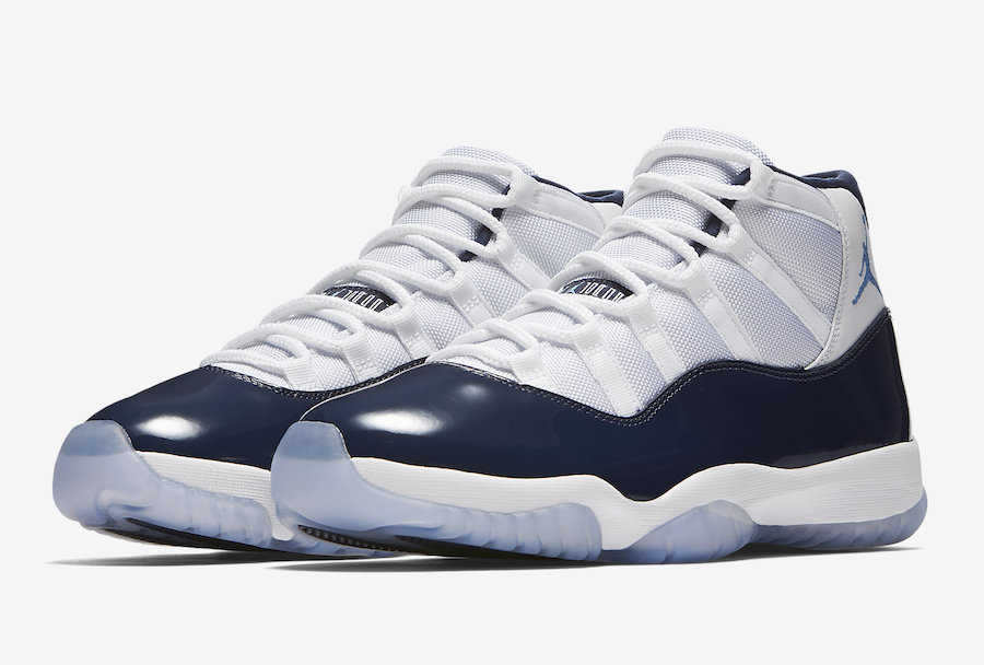 94c31c50b86eda ... Air Jordan 11 Win Like 82 Navy 378037-123 Image is loading Nike-Air- Jordan-6-17-23-GS