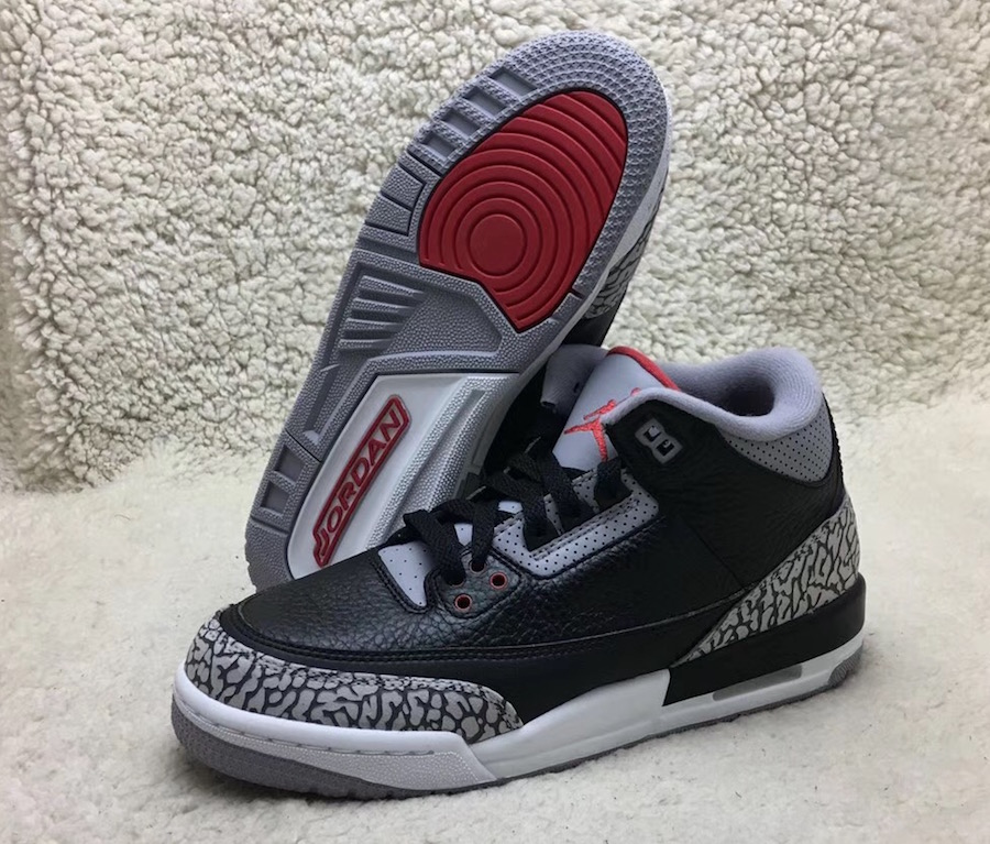 Nike Air Jordan 3 OG Girls Black Cement 854261-001