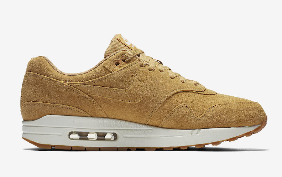 online store 521d6 71f96 Nike Air Max 1 Wheat Flax 875844-203 - Sneaker Bar Detroit