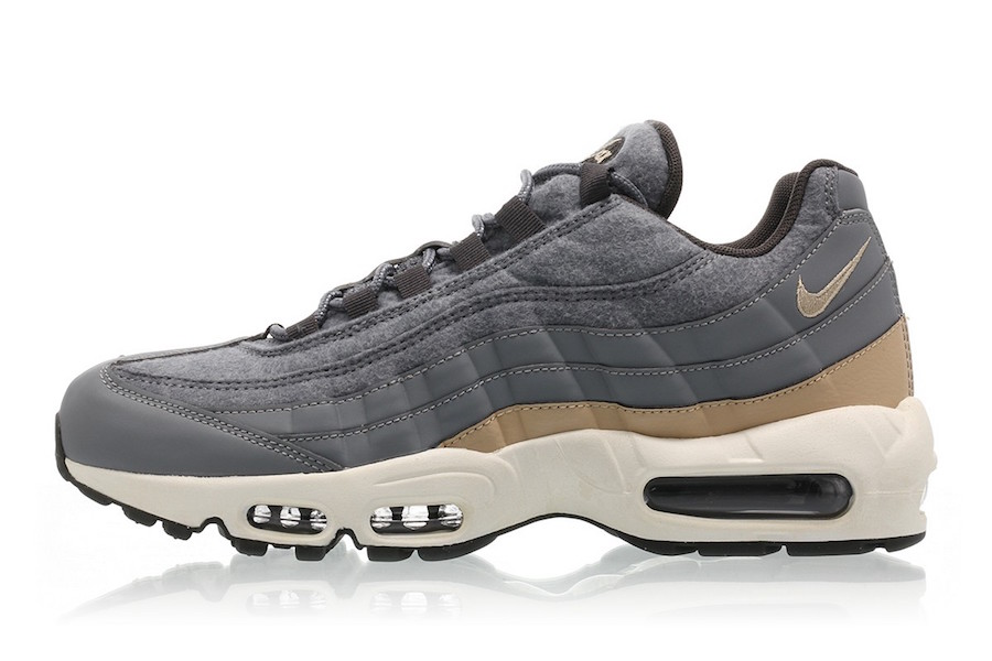 Nike Air Max 95 Premium Black Gold Sneaker Bar Detroit