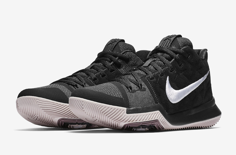 Nike Kyrie 3 Silt Red Black 852395-010