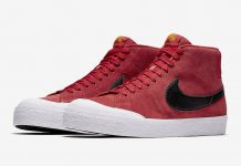 Nike SB Blazer Mid XT University Red 876872-607