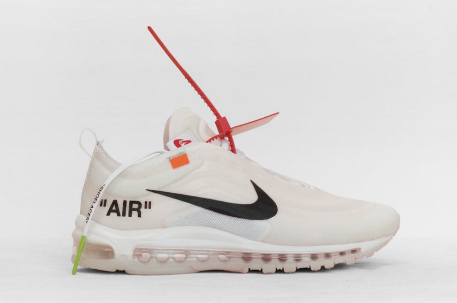Virgil Abloh Off-White Nike Air Max 97
