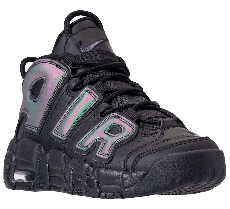 Nike Air More Uptempo Iridescent Reflective