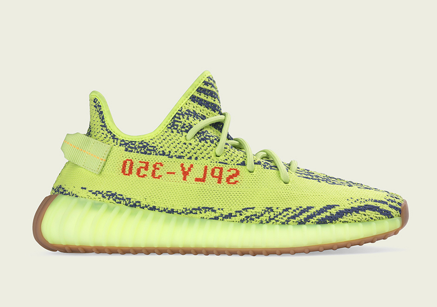 adidas Yeezy Boost 350 V2 Semi Frozen Yellow Store Listings