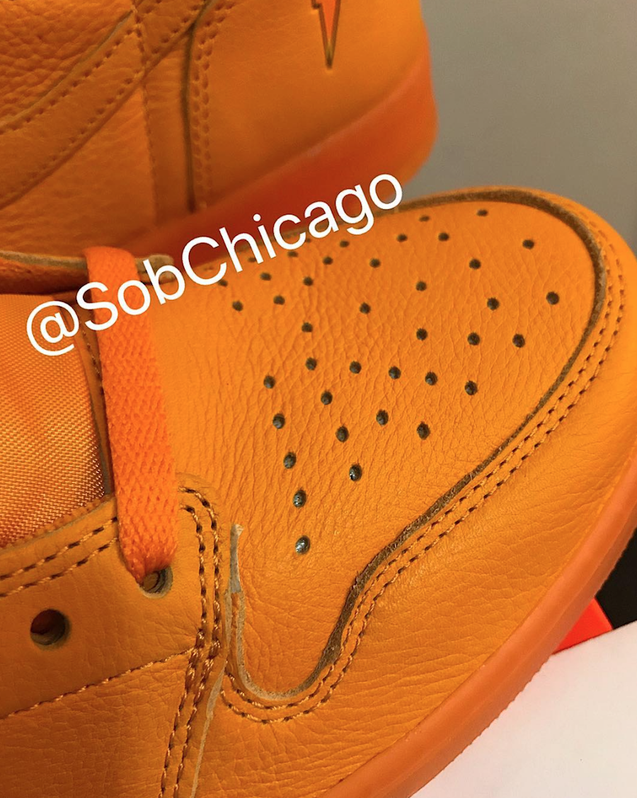 Air Jordan 1 Gatorade Orange AJ5997-880