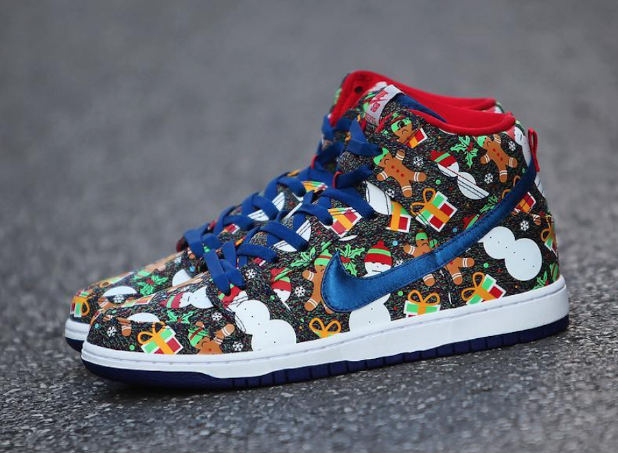 6629318423d Concepts Nike SB Dunk High Ugly Christmas Sweater - Sneaker Bar Detroit