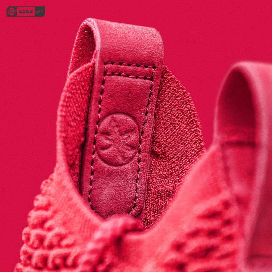 info for 47ae4 f5d96 Nike LeBron 15 Ohio State Red PE - Sneaker Bar Detroit