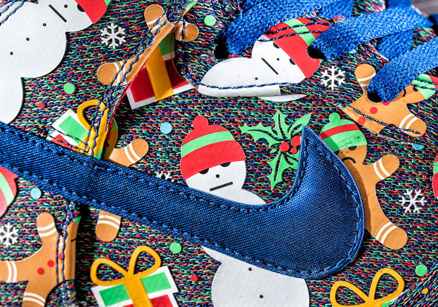 Nike SB Dunk High Concepts Christmas Ugly Sweater Release Date