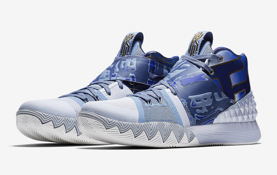Nike Kyrie S1 Hybrid What The Blue White Gold AJ5165-902