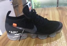 Off-White x Nike Air VaporMax Black 2018 AA3831-002
