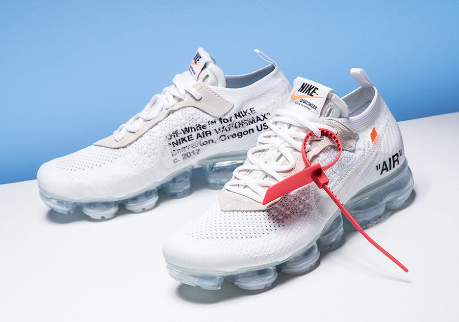 Off White Nike VaporMax White Colorway