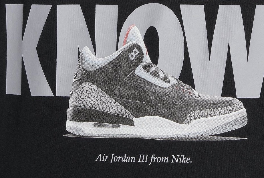 Spike Lee Do You Know Air Jordan 3 Black Cement