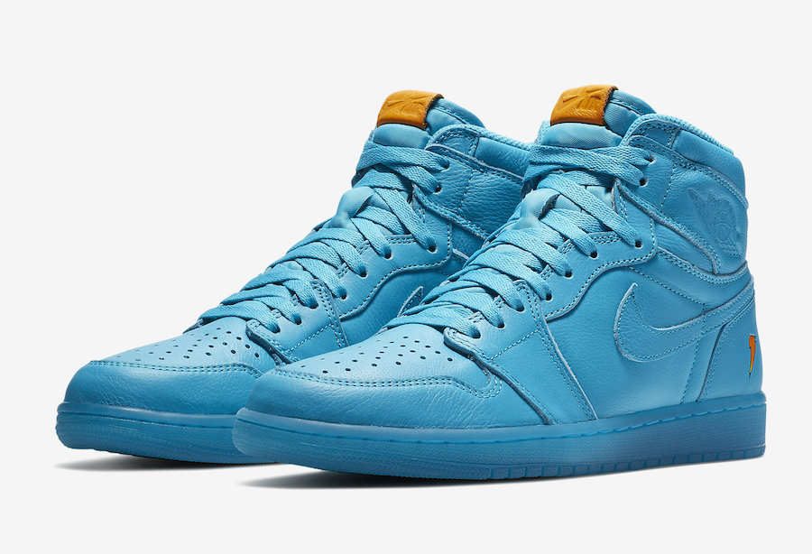 22c67b726596 Air Jordan 1 Gatorade Blue Lagoon AJ5997-455 - Sneaker Bar Detroit