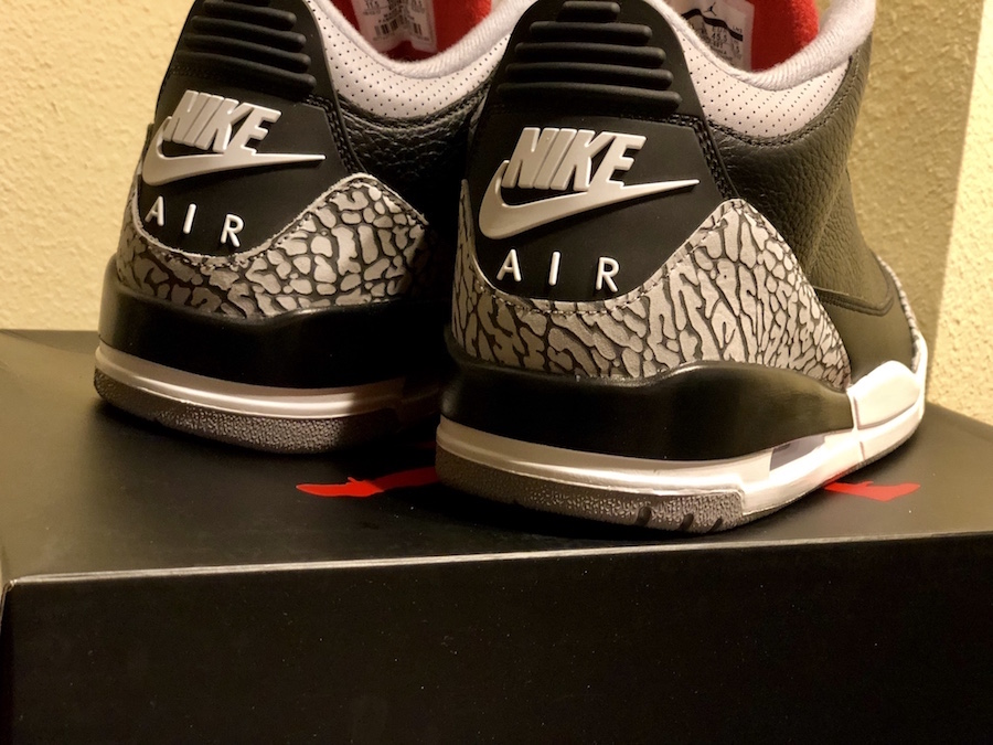 purchase cheap 4e7be 47715 Air Jordan 3 OG Black Cement 2018 Release Date - Sneaker Bar ...