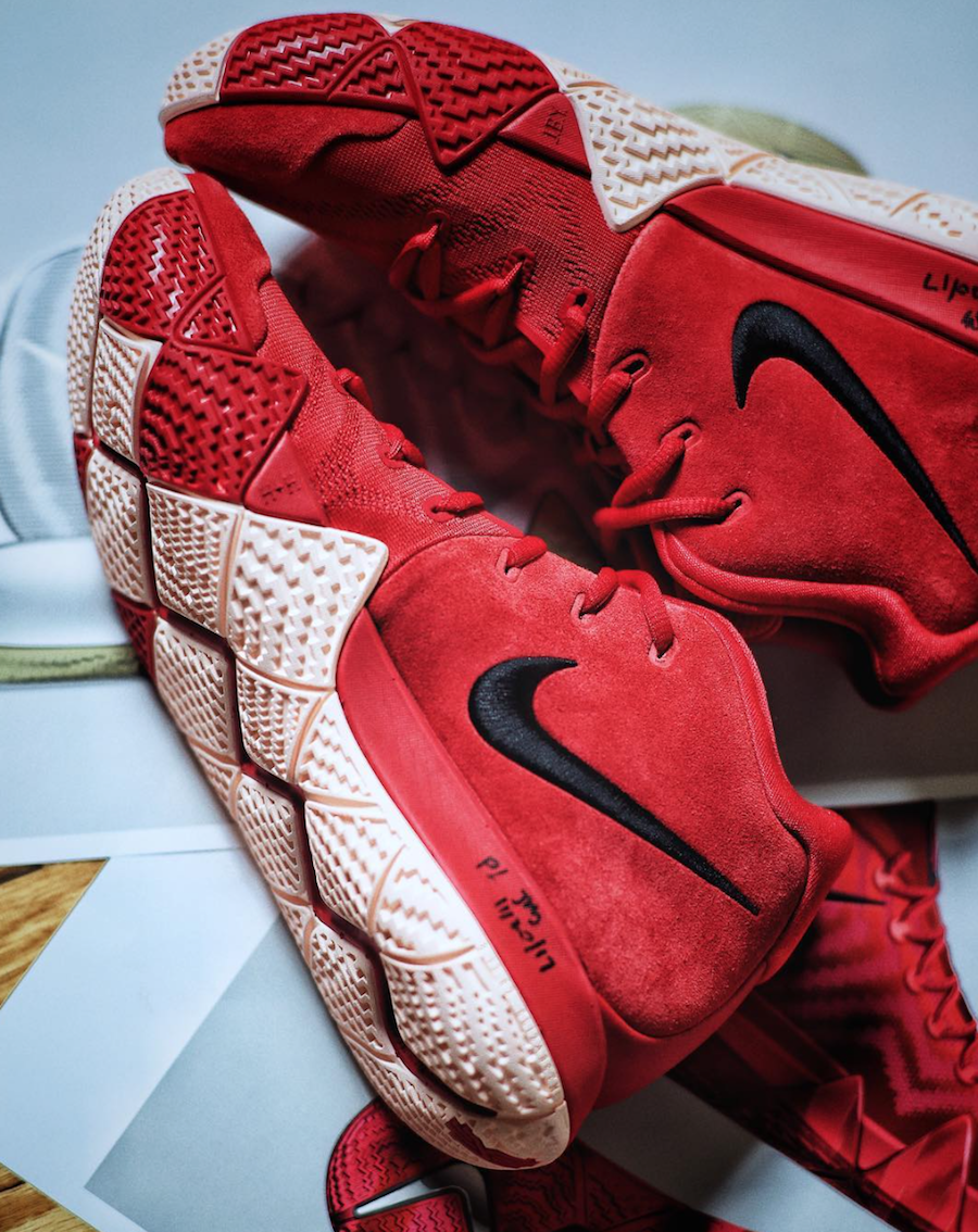 Fireworks Nike Kyrie 4 Chinese New Year