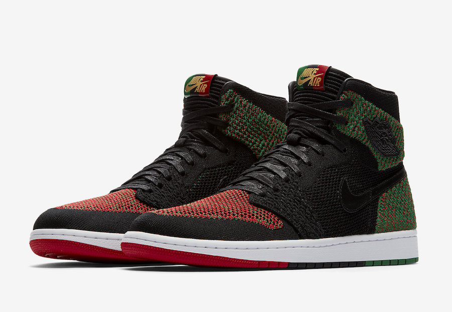 new arrival 4eec8 aed77 Air Jordan 1 Flyknit BHM Black History Month AA2426-026