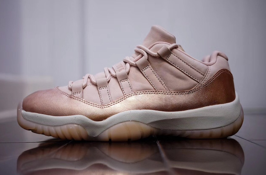Jordan 11 Low Rose Gold