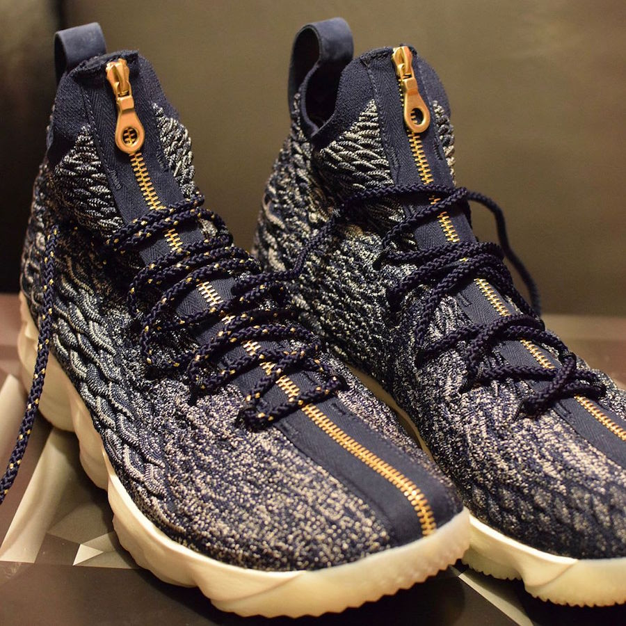 Kith x Nike LeBron 15 Cardozo Blue High School