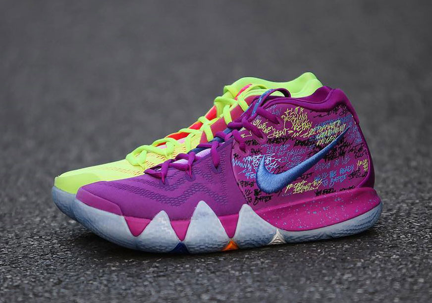 outlet store e7a38 2a1b1 Nike Kyrie 4 Confetti