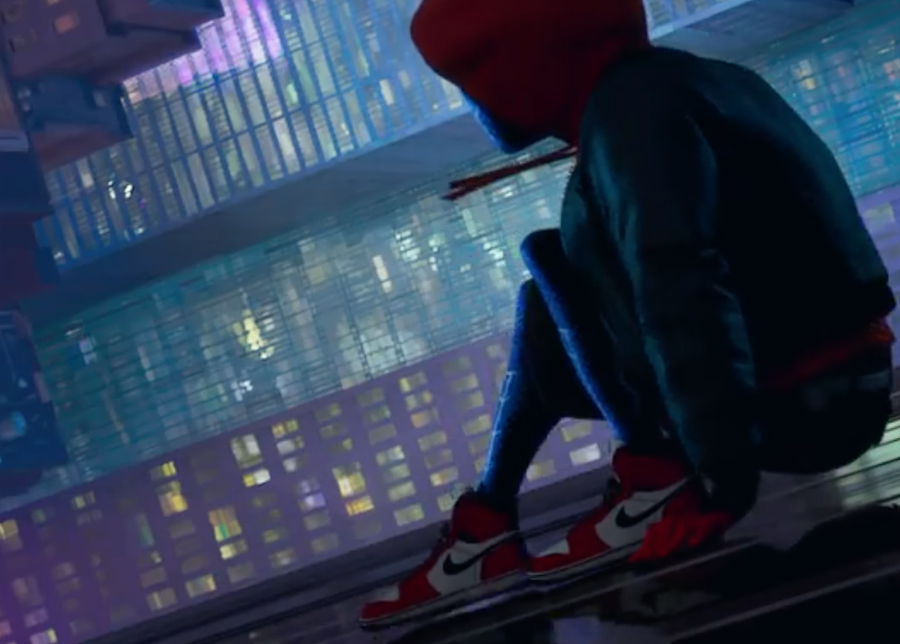 Miles Morales Spider Man Air Jordan 1 Sneaker Bar Detroit
