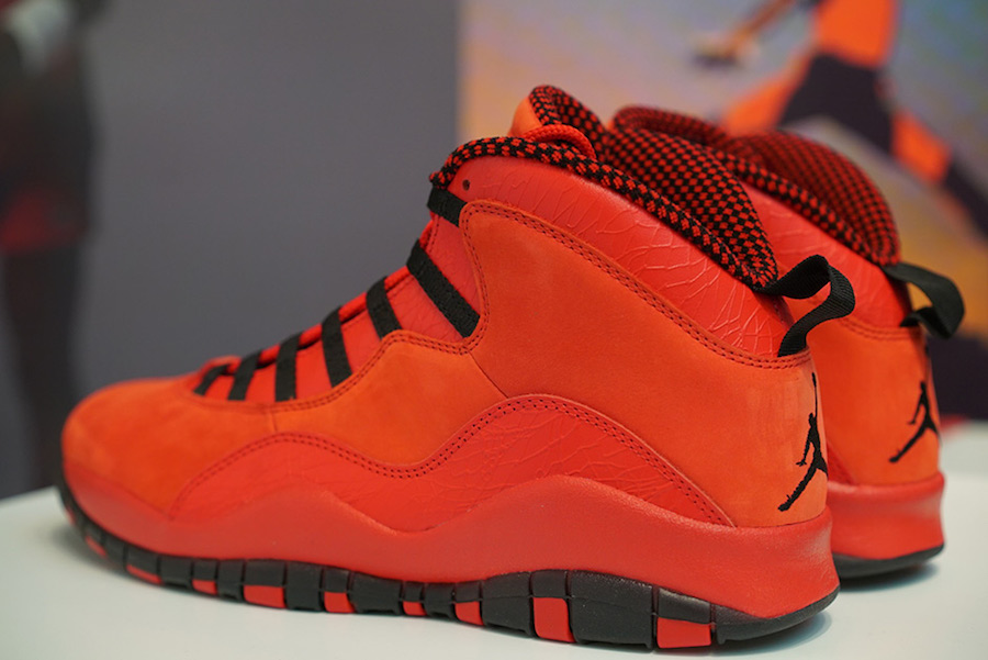 Steve Wiebe Air Jordan 10 Red AJ9100-625