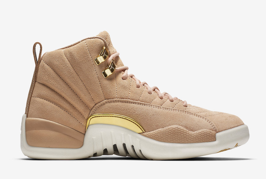 Air Jordan 12 Vachetta Tan Metallic Gold AO6068-203 Release Date