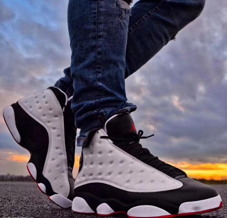 Air Jordan 13 He Got Game 2018 Retro 414571-104 On-Foot