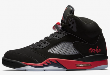 Air Jordan 5 Bred Black University Red 136027-006