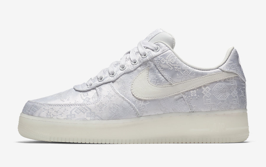 CLOT x Nike Air Force 1 Premium AO9286-100 Release Date Pricing