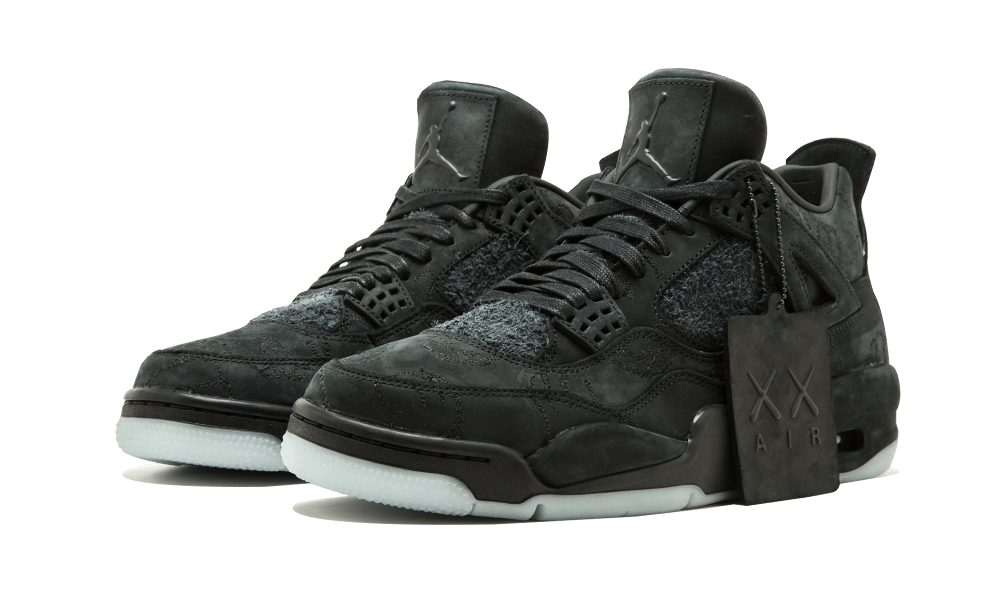 Air Jordan 4 KAWS Black