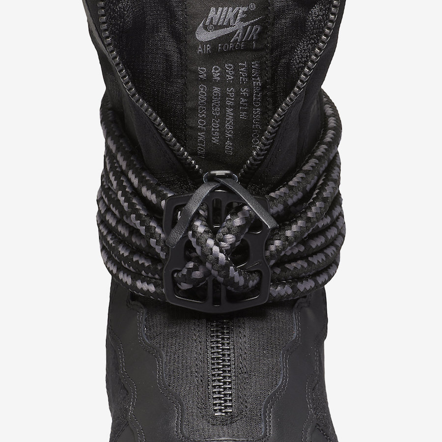 Nike SF-AF1 High Black Dark Grey Release Date