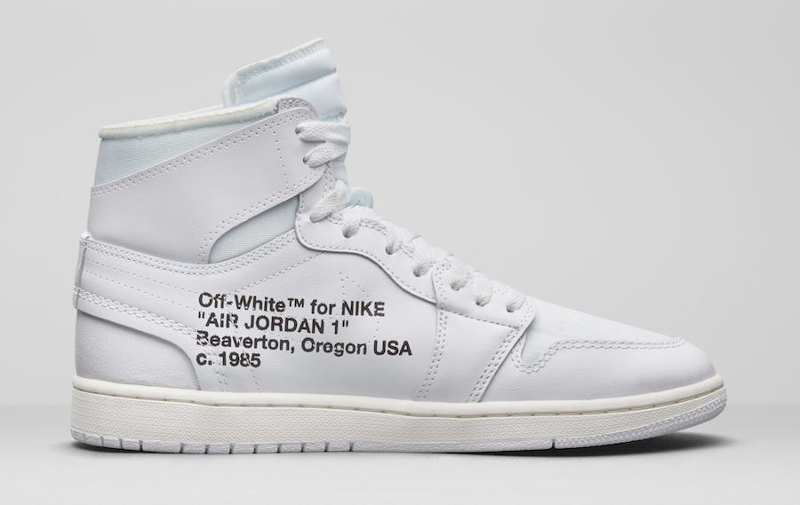 Off White Air Jordan 1 White AQ0818-100 Release Date