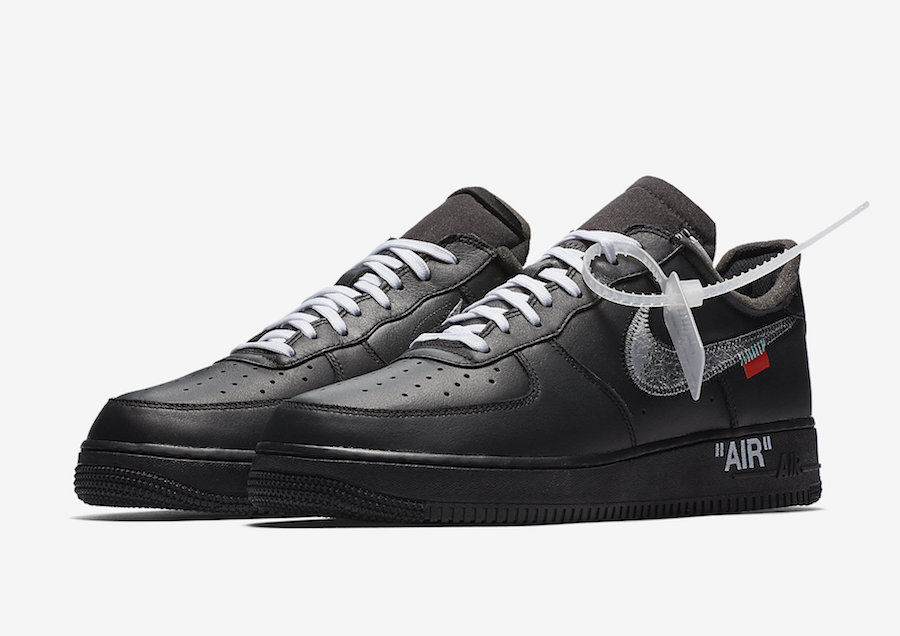 separation shoes aaefb 0b669 Off-White Nike Air Force 1 MoMA Black AV5210-001 Release ...
