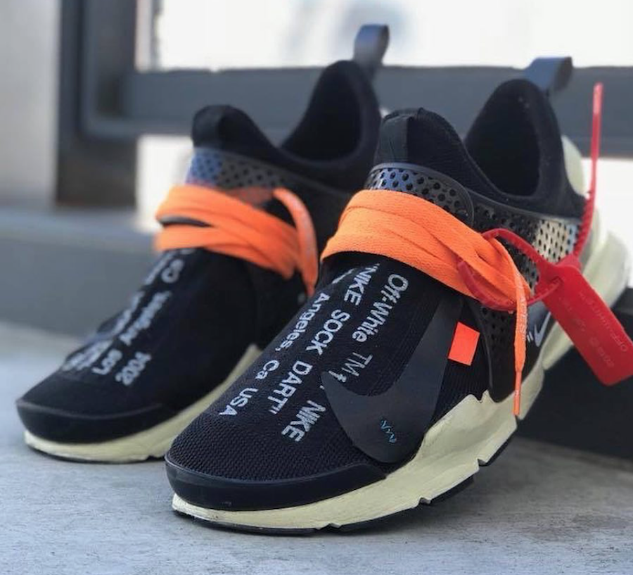 pretty nice 33bc5 a9df9 Off-White Nike Sock Dart Release Date -