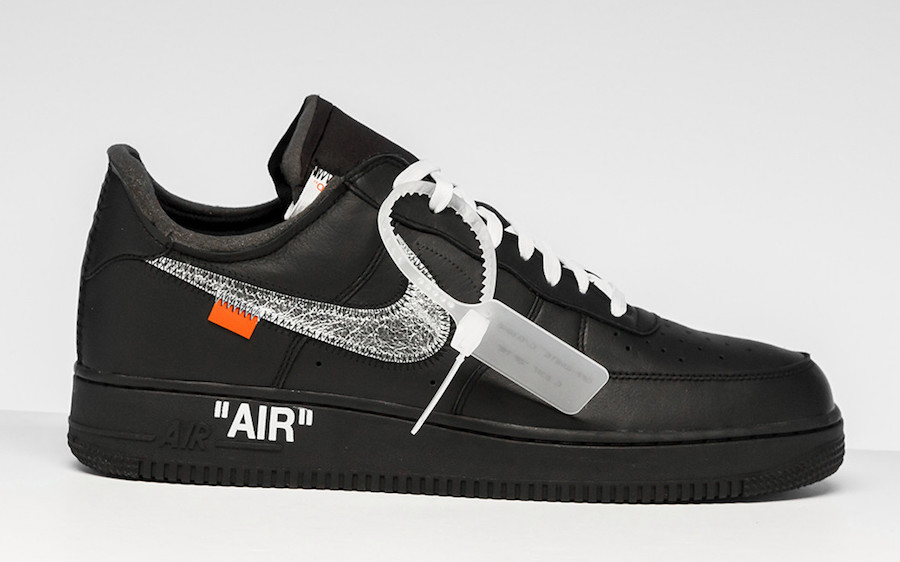 Off White Nike Air Force 1 MoMA Black AV5210 001 Release