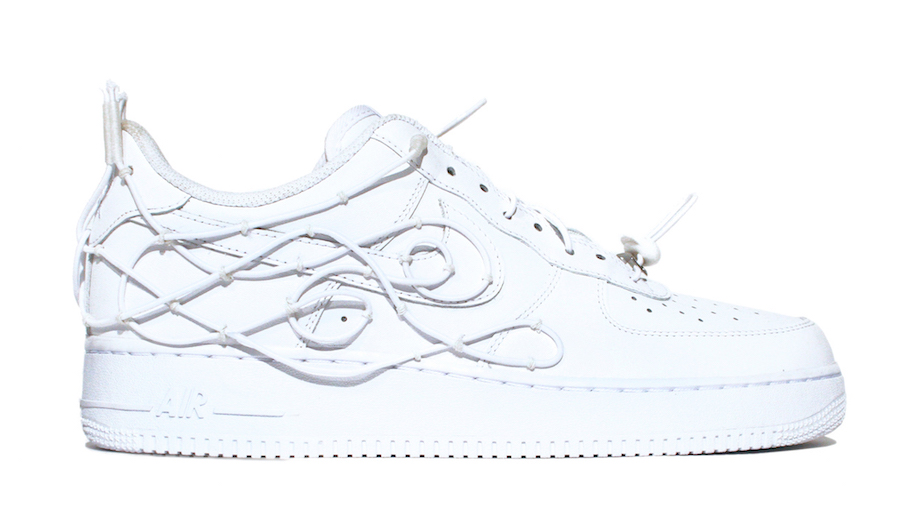 William Francis Green WFG x Nike Air Force 1 Collection