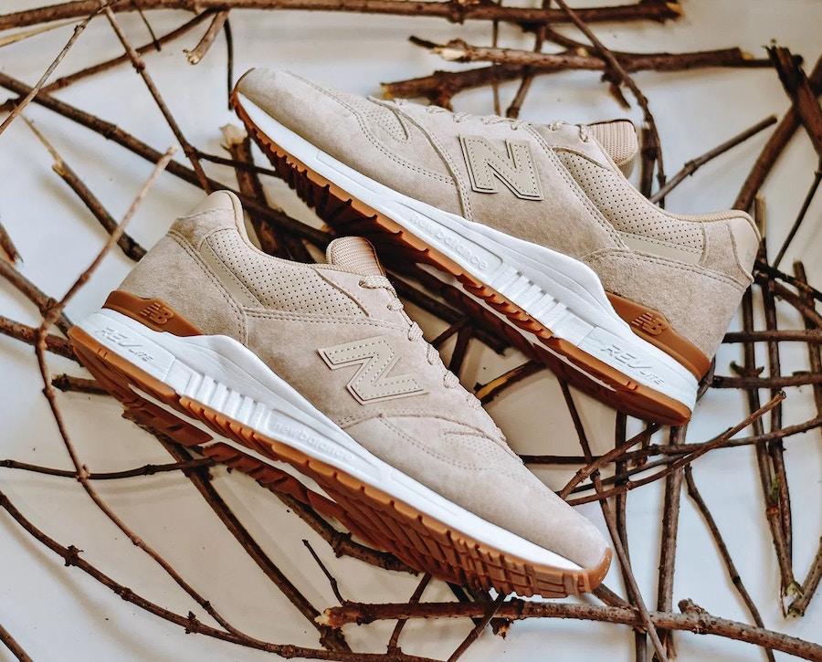 New Balance 840 Tan Suede