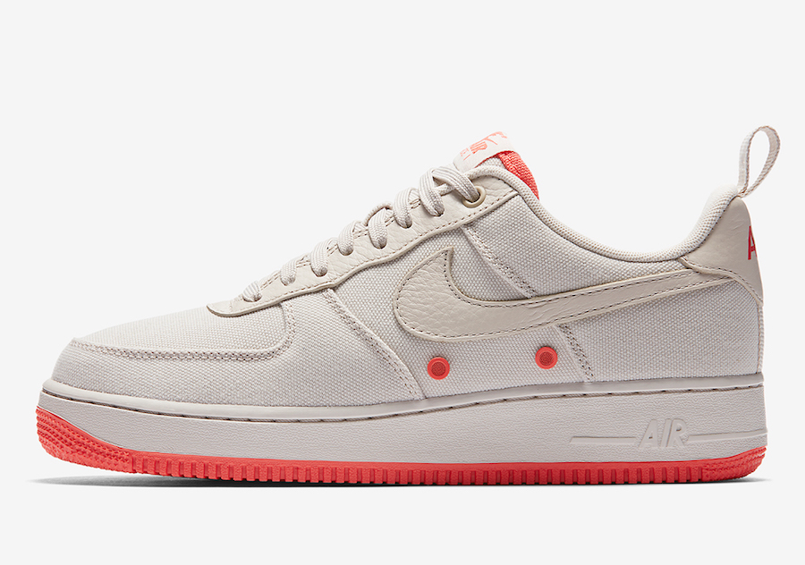 Nike Air Force 1 Low Canvas Desert Sand 579927-001