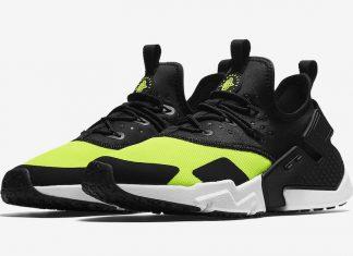 315cd67720e2f Nike Air Huarache Drift Releasing in Black and Volt