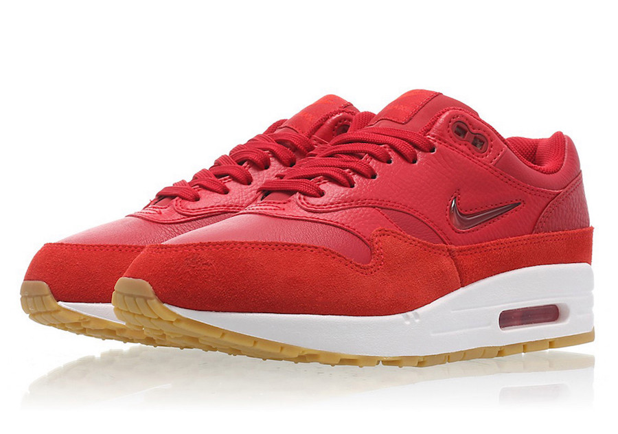 Nike Air Max 1 Jewel Gym Red AA0512-602