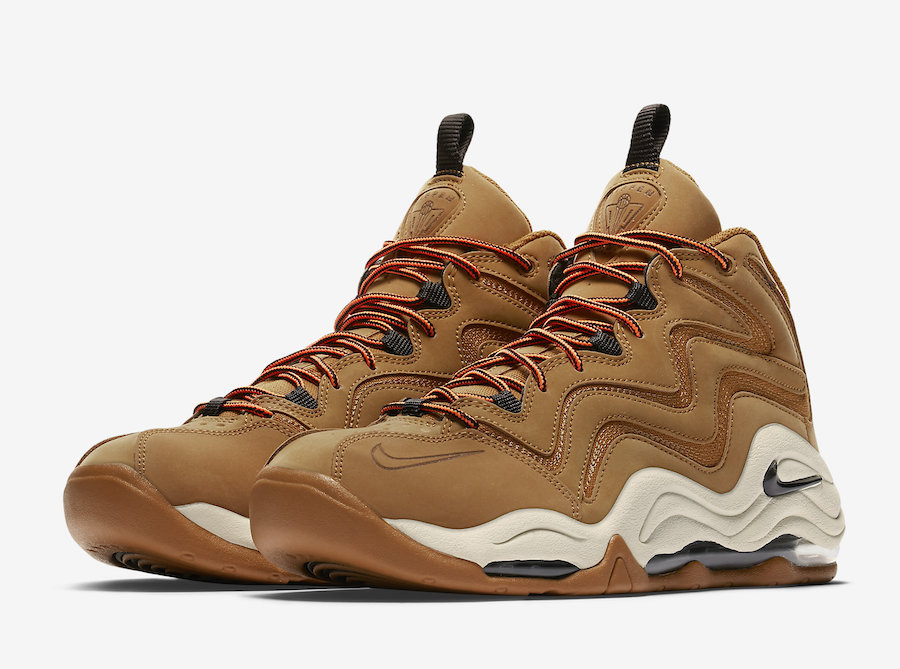 Nike Air Pippen Wheat Desert Ochre Velvet Brown 325001-700 Release Date