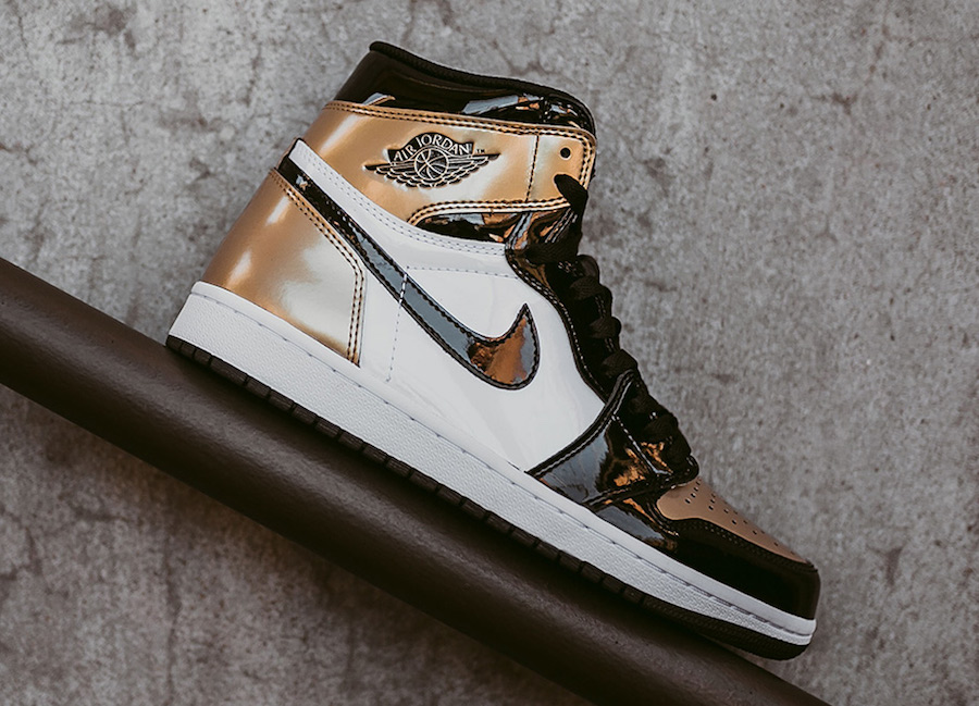 ae269d98dc3 Air Jordan 1 Gold Toe 861428-007 Release Date - Sneaker Bar Detroit