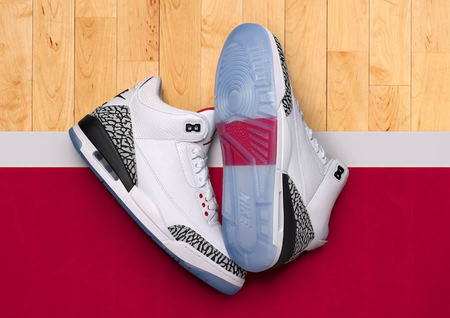 974f421a3233 Air Jordan 3 Free Throw Line 923096-101 - Sneaker Bar Detroit