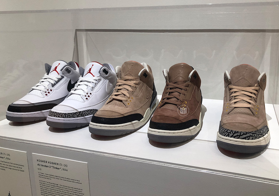 Justin Timberlake Air Jordan 3 Man of Woods Sample Collection