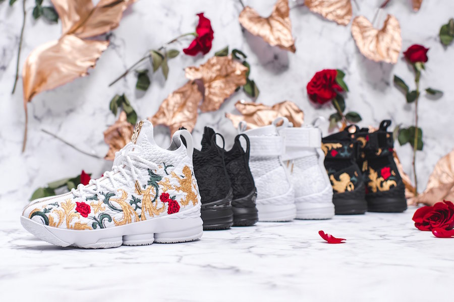 """888a65df336 KITH x Nike LeBron 15 Lifestyle """"City of Angels"""" Release Date  February  16-17"""