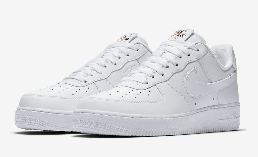 Nike Air Force 1 Swoosh Pack White AH8462-102 Release Date