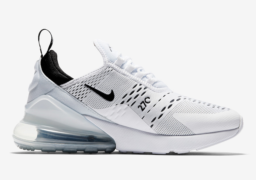 Nike Air Max 270 White Black AH6789-100